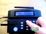 How to set SMS number on alarm system, home alarm monitoring home alarm monitoring cell phone