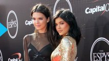 Kendall Jenner Sports See-Through Dress While Kylie Jenner Heats Up the Red Carpet in Gold at 2015 ESPY Awards