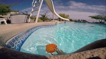 "Ballon In Water In Slow-Motion ""The GoPro Slow-Motion Series"" By: The ChrisEditing Productions."