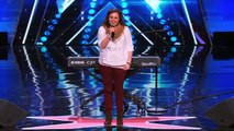 Britney Allen Nervous Singer Covers 'Wherever You Will Go' by The Calling America's Got Talent