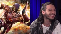 Ezra Miller Dishes Flash Movie Secrets and Talks About the Flash Show!