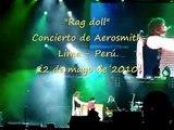 """""""RAG DOLL"""" - AEROSMITH EN LIMA PERÚ 2010"""