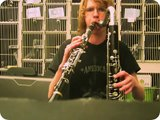 Clarinet and Bass Clarinet at same time
