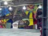 Art Battles: Street Art in Building Lobby on 40th Street, Pt. 2