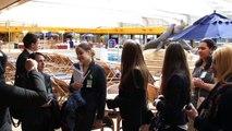 HTRO Toerisme & Recreatie Rotterdam Inholland Bezoek aan cruiseship ms Rotterdam