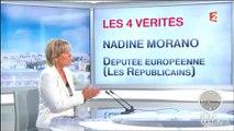 Les exemples un peu incompréhensibles de Nadine Morano pour expliquer que la Grèce coûte cher à la France (1/2)