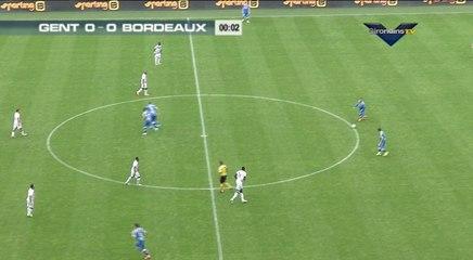 Match amical Gent - Bordeaux
