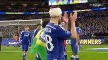 Chelsea vs Tottenham - Capital One Cup FINAL 2015 - Chelsea Full Cup Celebrations HD