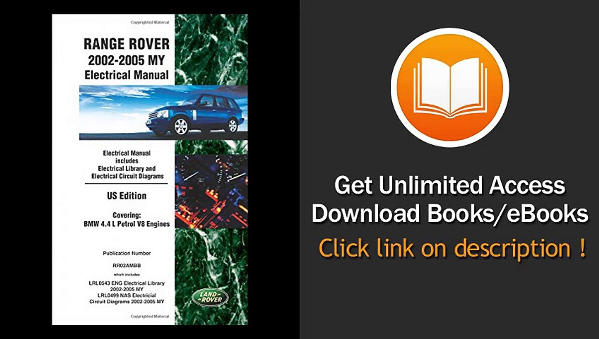 2005 range rover engine diagram download pdf  range rover 2002 2005 my electrical manual us  download pdf  range rover 2002 2005 my
