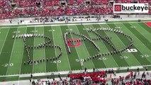 Hommage à Mickael Jackson et au Moonwalk à un match de football dans l'Ohio !