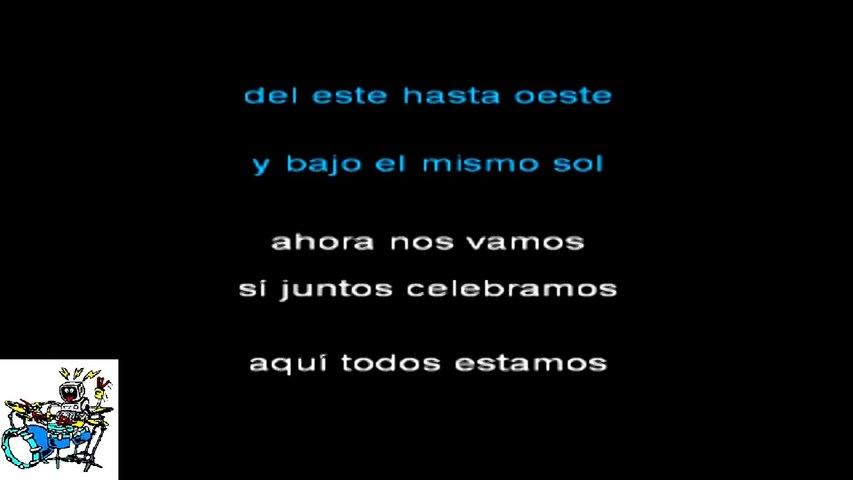 Il Laboratorio del Ritmo - Karaoke - El mismo sol - Alvaro Soler