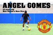 Angel Gomes New Young Star of Man United FC (14 Year Old) | Dribbling session