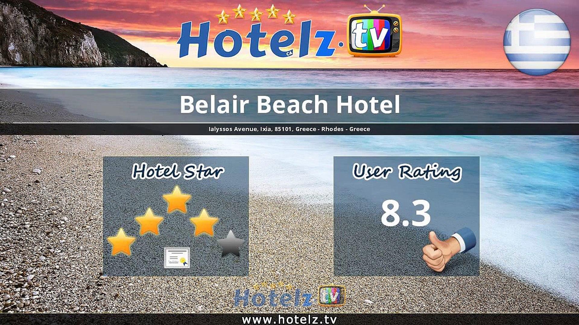 Belair Beach Hotel - Ixia - Greece