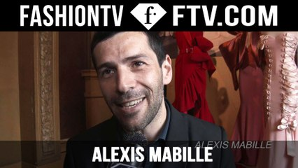 Alexis Mabille Presentation | Paris Haute Couture Fall/Winter 2015/16 | FashionTV