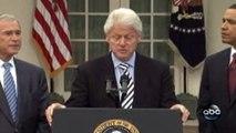 Haiti Earthquake - Barack Obama, Bill Clinton and George W. Bush talk about aid (2)