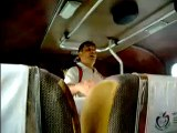 vendedor en el bus