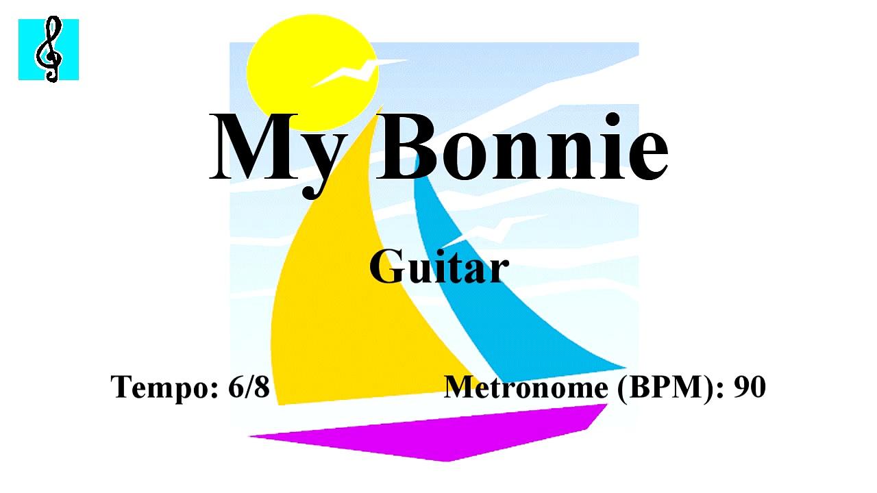 Mandolin Notes Tutorial – My Bonnie (Sheet music – Guitar chords)