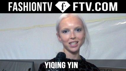Yiqing Yin Backstage | Paris Haute Couture Fall/Winter 2015/16 | FashionTV