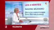 """Nadine Morano : """"Tsipras c'est Marine Le Pen au masculin""""- Zapping du 16 juillet"""