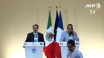 Mexican President Enrique Pena Nieto and France's François Hollande joint statement at the Elysée Palace on last day of (REPLAY) (2015-07-16 18:28:58 - 2015-07-16 18:45:29)