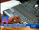 """Radio """"Voces del Alma"""" cuenta con una nueva cabina de alta tecnología"""