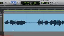 How do you remove unwanted sounds from your Pro Tools recording?