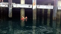 Wiener Dog Rescue - L.A. City Lifeguards and L.A. Port Police