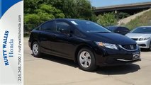 2015 Honda Civic Dallas TX Fort Worth, TX #151360 - SOLD