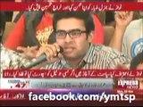 Rana Sanaullah was Slapped By Student When he Called Imran Khan Ghora
