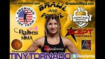 Invicta 4: Paige Van Zant vs. Tecia Torres weigh in
