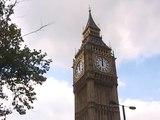 Westminster Chimes / Big Ben, noon