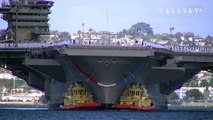 US Navy: Nimitz-Class Supercarrier Salute - San Diego CA - Featuring the  Blue Angels