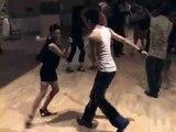 2008 Hawaii Salsa Festival - Luis & Liz open dancing