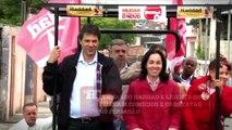 Haddad, Marta e Suplicy nas ruas | Eleições 2012 | Haddad oficial