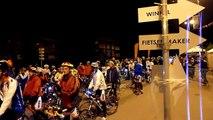 Alpe d'HuZes 2012 - Gezamenlijk vertrek richting start