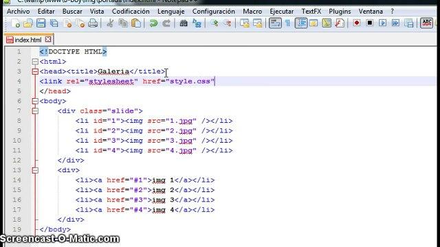 Crear una galería de imágenes con HTML y CSS