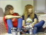 Megadeth Interview for So Far So Good So What!