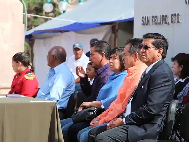 Realizan Clausura Oficial del Ciclo Escolar 2014 - 1015 en San Felipe Gto.