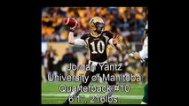 Jordan Yantz University of Manitoba Highlights