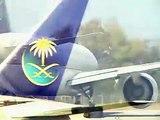 Saudi Arabian Boeing 777-200 take-off Geneva COINTRIN