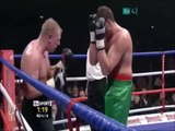 Boxer Nearly Knocks Himself Out - Boxer Punches Himself!