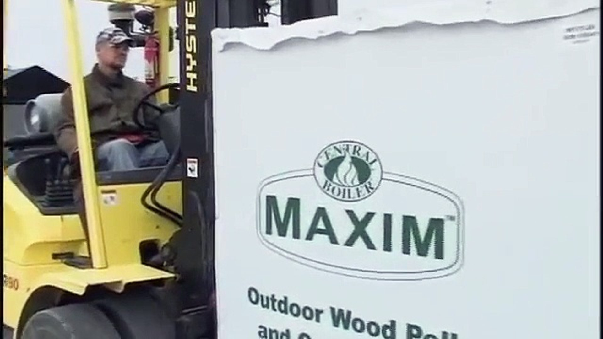 Central Boiler - Maxim Installation - Outdoor Wood Pellet Furnace
