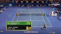 Tennis Elbow 2013 Wawrinka vs Nadal Australian Open [ITST Mod 1.17] #022 HD