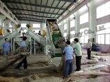 PP PE film crushing washing drying line waste plastic film recycling machine-1000kg/hour