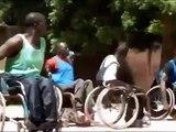 Séance d'entraînement du Basket Fauteuil / Wheelchair Basketball Practice Session