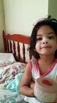 """Niña Dice """"Que No Se Puso Polvo""""   Comparte Este Vídeo"""