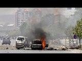 RAW: Taliban gunmen explode several bombs in Afghan Parliament in Kabul