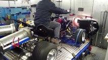 Dyno Yamaha Raptor 700 734 Streetfighter @  Hilltech Tuning Kaatsheuvel