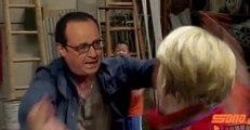 Hollande, maître kung-fu contre Merkel dans une vidéo satirique grecque