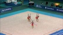Gimnasia Rítmica - Campeonato Europa Baku 2014 - Mazas